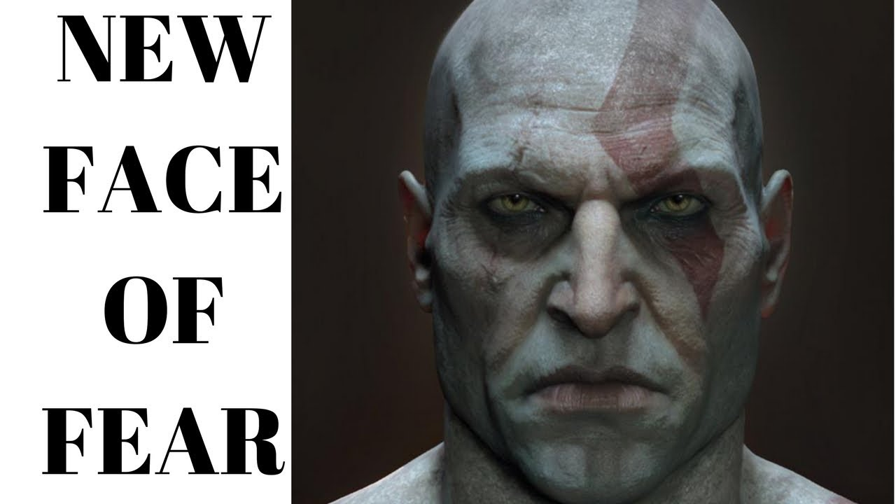 Kratos Without Beard New Face Of Fear In God Of War 5
