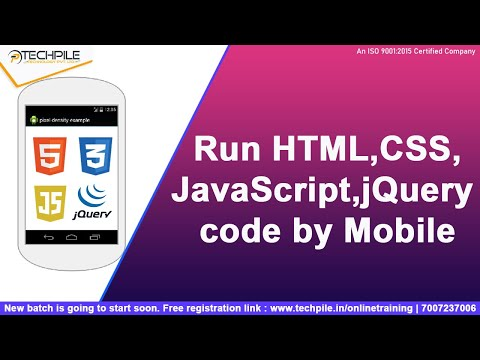 How To Run HTML,CSS,JavaScript Code By Mobile | In Hindi | Run Html By Phone In Hindi