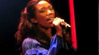 Brandy- Right Here (Departed) LIVE in DC @ The Howard Theater 2012 (BEST QUALITY)
