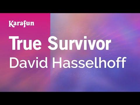 Karaoke True Survivor - David Hasselhoff *