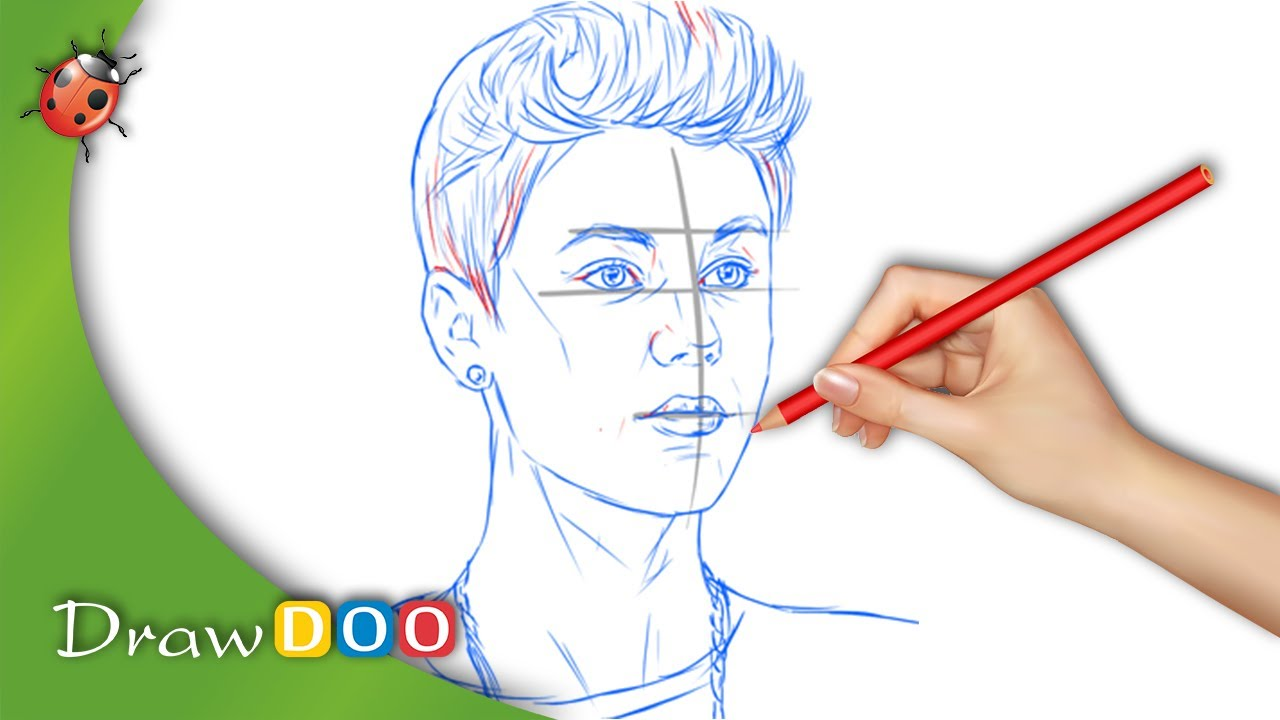 Drawing lessons. Painted singer. How to draw a singer