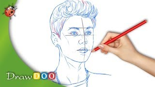 Justin Bieber from Singers Drawing Tutorial