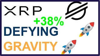 XRP and STELLAR are DEFYING GRAVITY| Could we see 1$ XRP THIS WEEK?