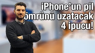 iPhone'un pil ömrünü uzatacak 4 ipucu!