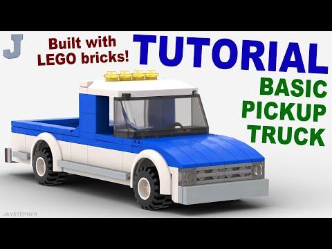 Tutorial Basic Lego Pickup Truck Cc