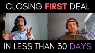 How Marquis Closed His First Real Estate Wholesaling Deal In less than 30 Days