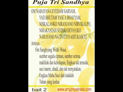 Tri Sandhya www arrypriyatnata com