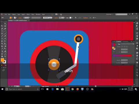 Illustrator Tutorials | Music ICON for Ipod/Iphone