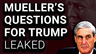 Robert Mueller's Questions for Donald Trump Released