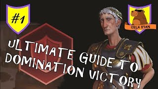 The Ultimate Guide to Domination Victory (maybe) #1 of 13 - (Civ 6 Gathering Storm)