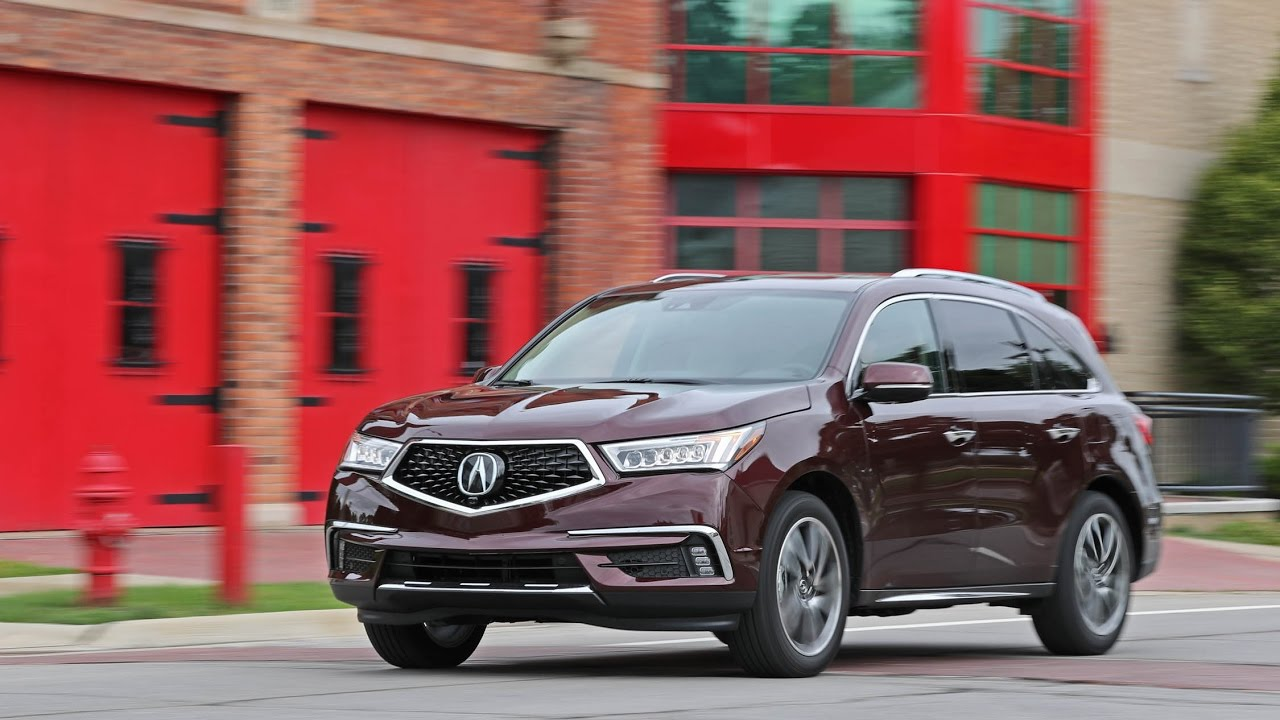 Roadtest 2017 Acura Mdx Sh Awd Safety Rating Towing Capacity