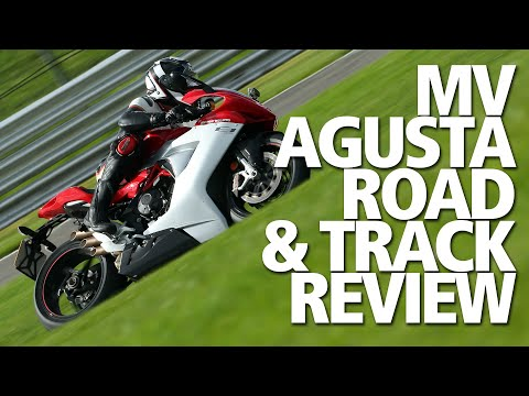 Flat out on the MV Agusta F3 800 | Top speed road and track review