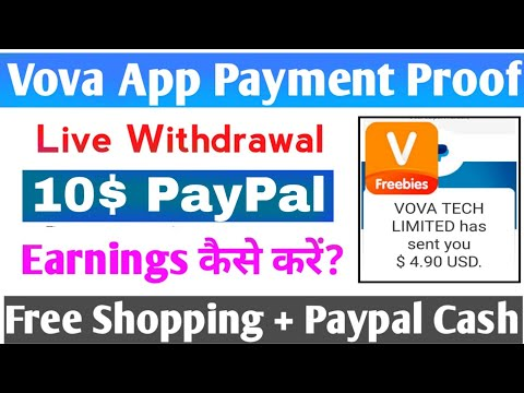 Vova App Payment Proof   Free Shopping + PayPal Cash   10$ Live Payment Proof   Vova App