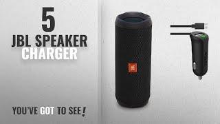 Top 5 JBL Speaker Charger [2018]: JBL Flip 4 Waterproof Portable Bluetooth Speaker (Black) & Car
