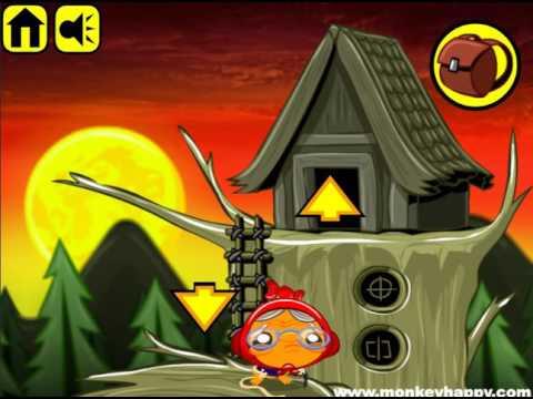 Мультик игра Счастливая обезьянка: Уровень 12 (Monkey Go Happly Stage 12)