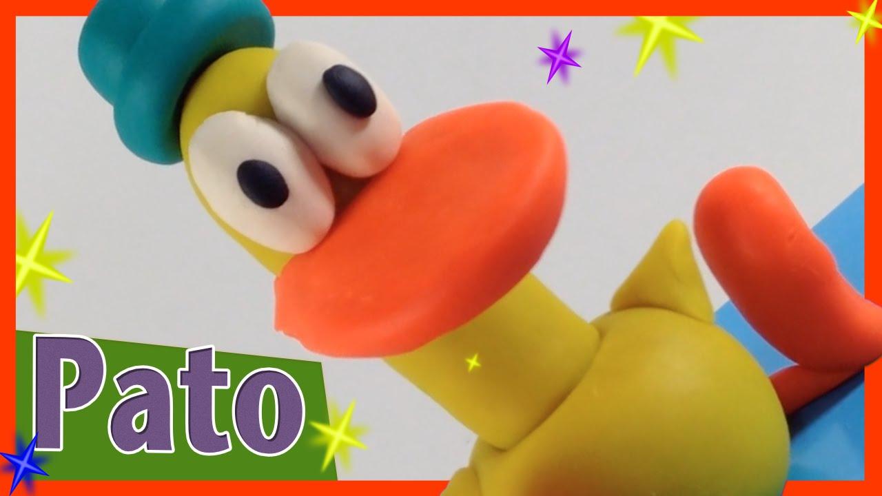 Como Fazer O Pato Do Pocoyo Com Massinha Play Doh 1minuto Pig Boss Toys