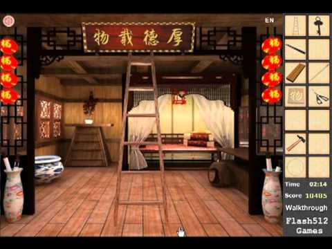Chinese classical bedroom escape walkthrough youtube for T bedroom escape walkthrough