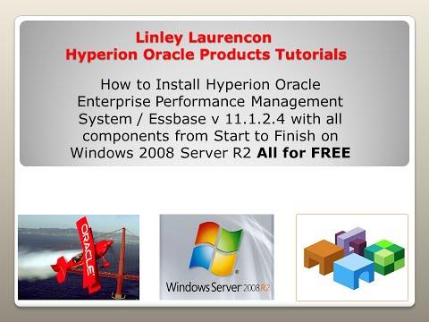 Installing Hyperion Oracle Enterprise Performance Management - Essbase Version 11 1 2 4