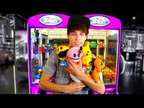 Arcades Hate When I do This! Ultimate Claw Machine Wins!