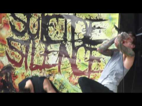 Suicide Silence - Disengage Warped Tour 2010 Pittsburgh