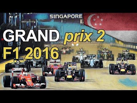 Let's Play Grand Prix 2 - 2016 F1 Singapore Grand Prix - Grand Prix 2 2016 Mod Gameplay