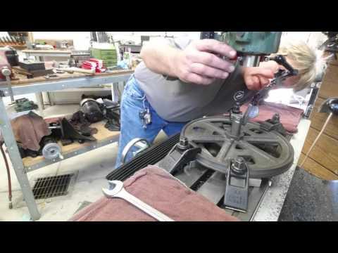 Bandsaw bearing repair