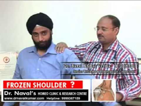 Homeopathic Remedies for Frozen Shoulder Treatment | Natural Remedies