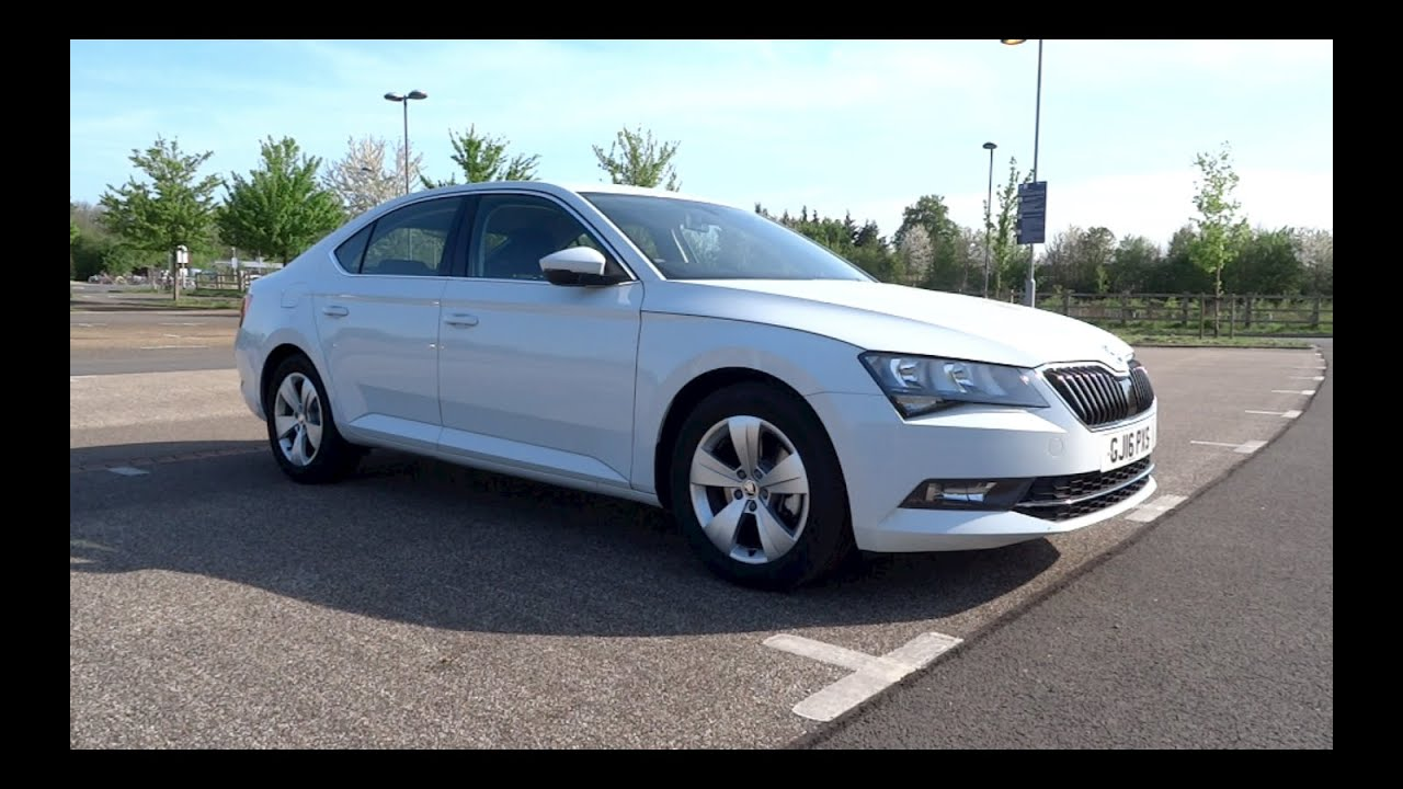 Skoda superb estate 1 4 tsi review autocar - 2016 Koda Superb 1 4 Tsi Act 150 Se Start Up And Full Vehicle Tour