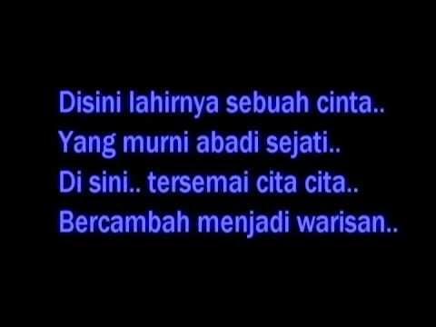 Warisan-Sudirman (karaoke Audio)