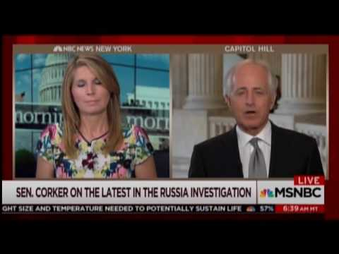 Corker: I Can't 'Possibly Imagine' Trump Firing Mueller
