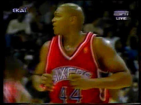 1996-97 NBA r.s Philadelphia 76ers-Washington Bullets(highlights)