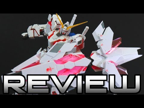 RG Unicorn Gundam Bande Dessinee Ver. Review - MOBILE SUIT GUNDAM UNICORN ユニコーンガンダム
