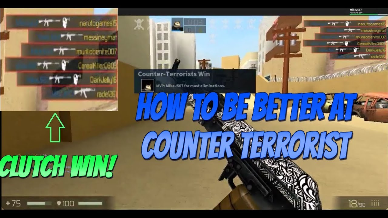 Roblox CBRO Tips & Tricks {How to be better at Counter ...