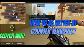Roblox CBRO Tips & Tricks {How to be better at Counter Terrorist}
