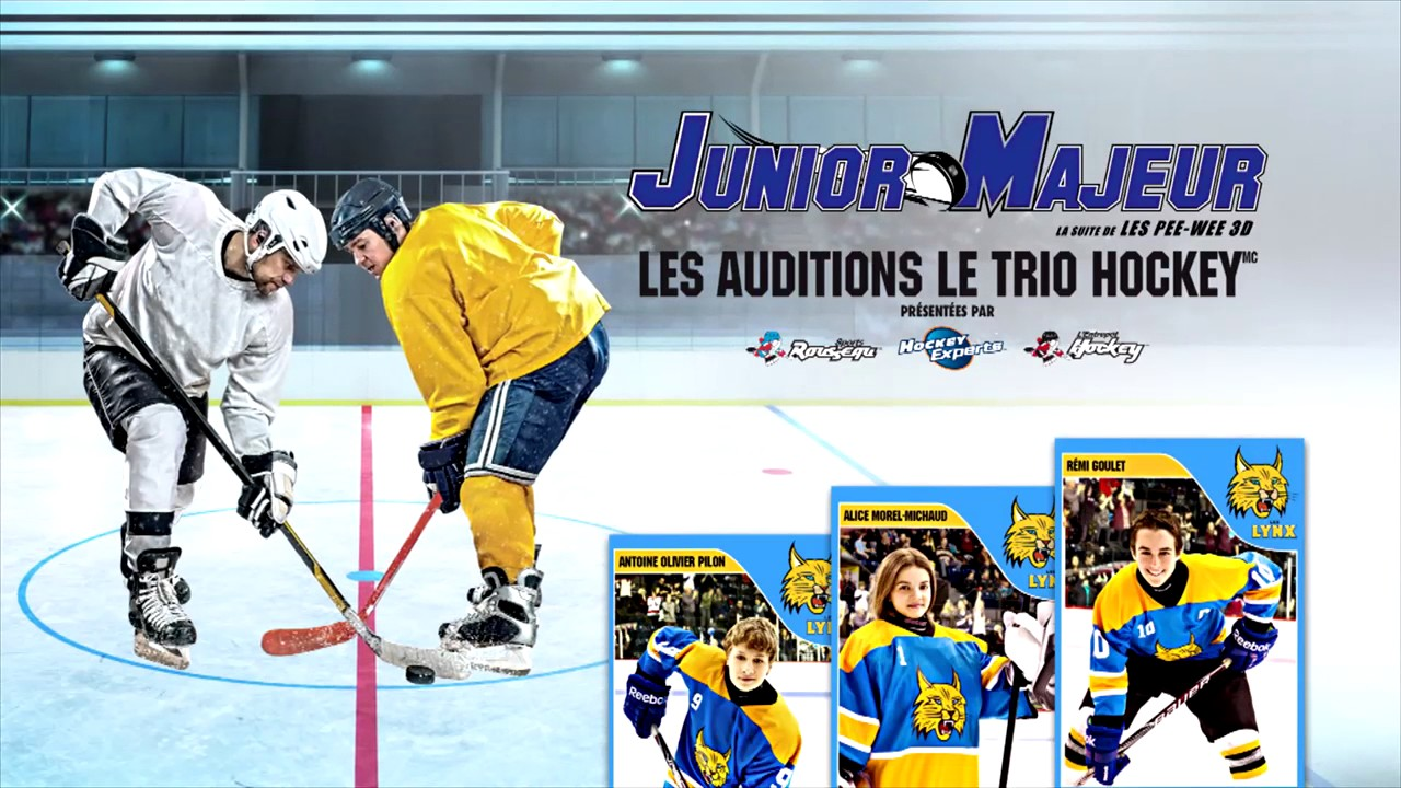 les auditions le trio hockey junior majeur le film youtube. Black Bedroom Furniture Sets. Home Design Ideas