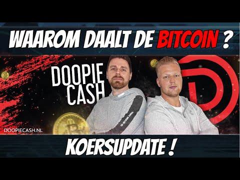 🎥Live Stream | Waarom Daalt de Bitcoin | DoopieCash