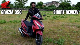 Honda Grazia Bs6 Features & simple Review with On road prices