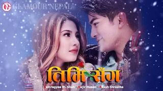 Nepali Movie TIMI SANGA Samragyee RajyaLaxmi Shah Najir Husen Akash Shrestha