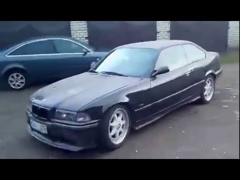 BMW e36 325i 3 0 stroker test drive M50B30