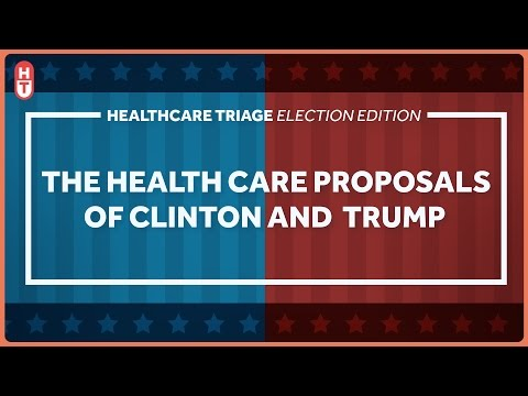Hillary Clinton, Donald Trump, and Their Health Care Proposals