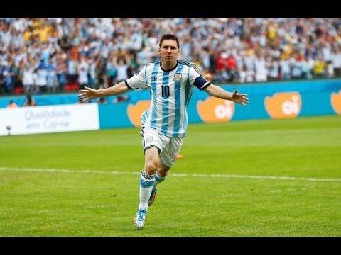 El Doblete de Leo Messi, Nigeria Vs. Argentina 2-3 en la Copa del Mundo,Brasil 2014
