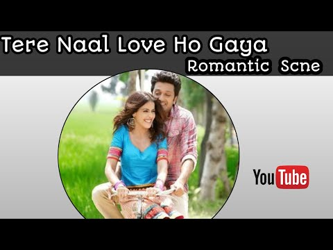 tere-naal-love-ho-gaya-romantic-scene