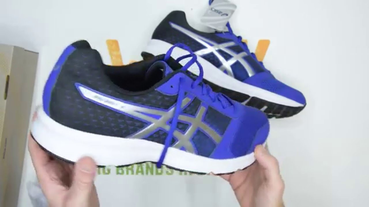 Asics Patriot 8 - Blue / Silver / Black - Walktall | Unboxing | Hands on