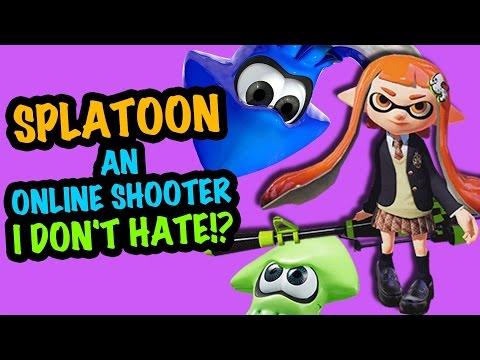 SPLATOON – The Only Online Shooter I ENJOYED!