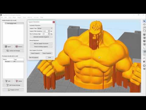 Customizing Support Structures   Simplify3D
