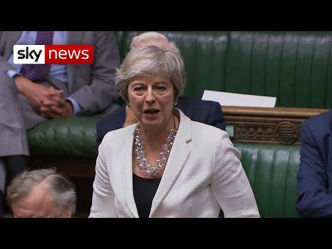 BREAKING: Theresa May