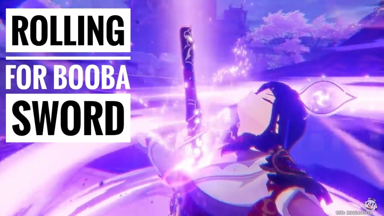 Rolling for Mistsplitter Reforge AKA Booba Sword (Gacha) | Genshin Impact
