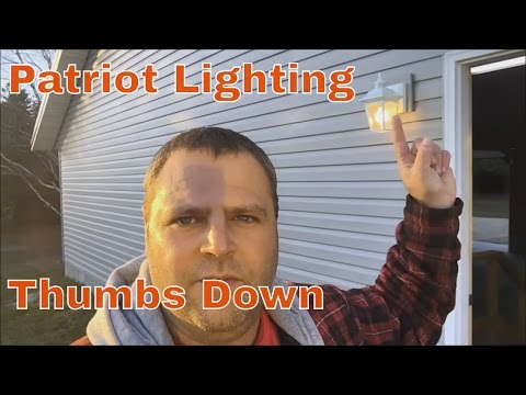 Patriot Lighting | Eloise Motion Lights Suck!! - YouTube