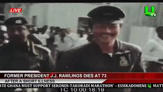 Former President Jerry John Rawlings Passes On 12/11/20