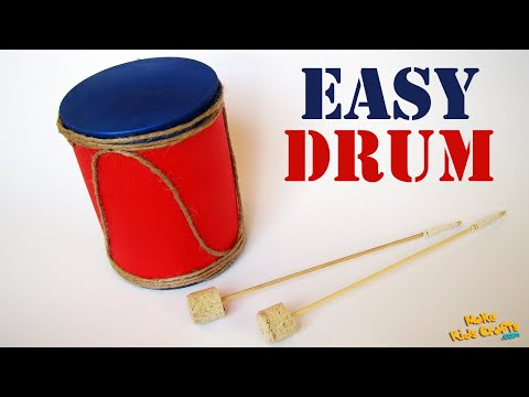 How to make a Drum? DIY